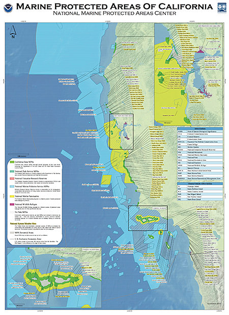 MPA Mapping Products | National Marine Protected Areas Center