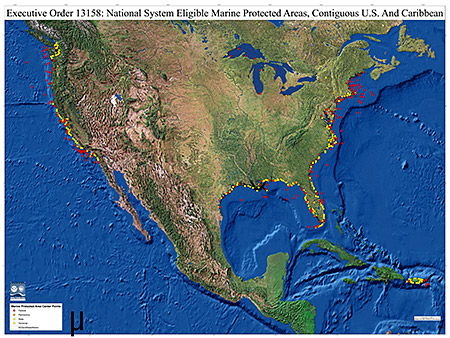 National System Eligible Mpas Contiguous U S And Caribbean